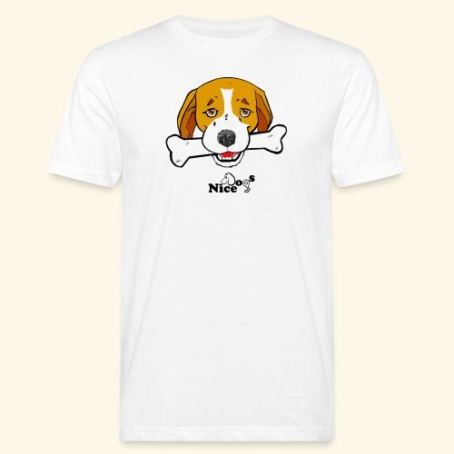 Nice Dogs Semolino - T-shirt ecologica da uomo