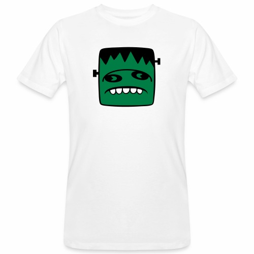 Fonster pur weißer Rand - Männer Bio-T-Shirt