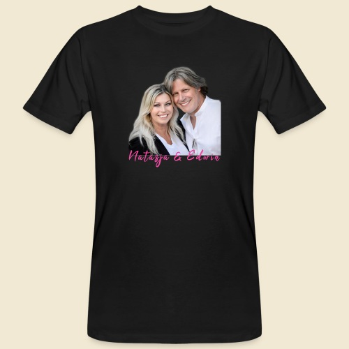 Natasja & Edwin - Mannen Bio-T-shirt