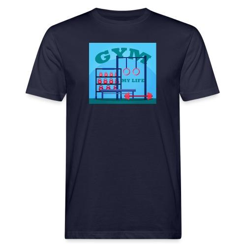 GYM - Miesten luonnonmukainen t-paita