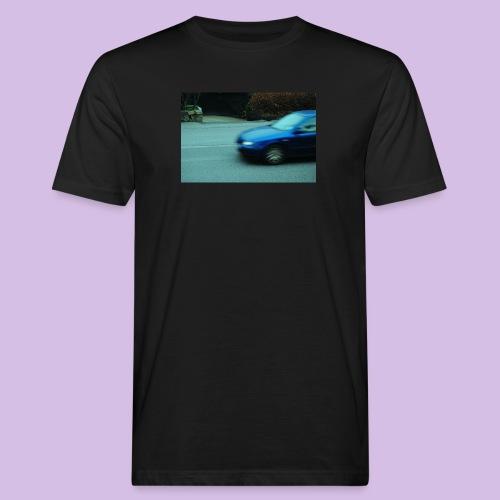 BLUE CAR - Ekologisk T-shirt herr