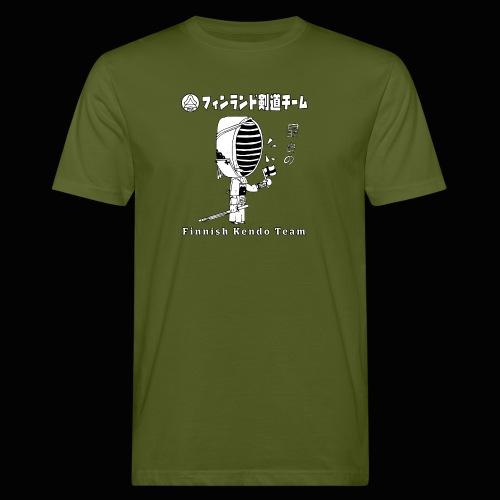 Kenshi w. Finnish Flag v2 - Miesten luonnonmukainen t-paita
