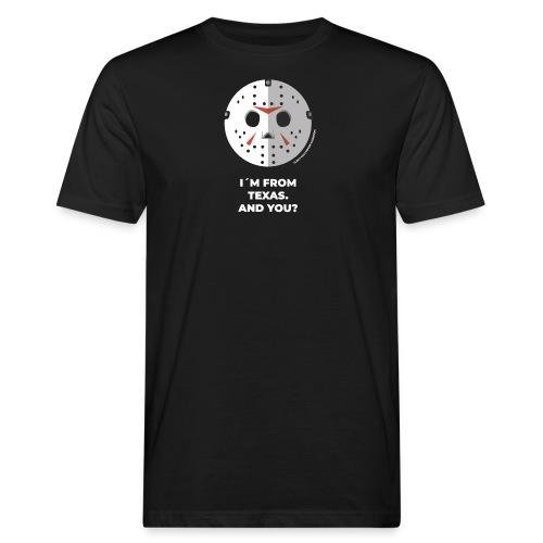 Jason Texas Chainsaw - Halloween Flirt Monster - Männer Bio-T-Shirt