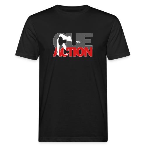 CueAction - Männer Bio-T-Shirt