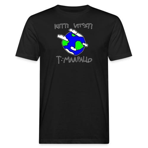 Kiitti - Miesten luonnonmukainen t-paita