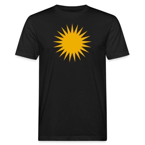 Kurdische Sonne Symbol - Männer Bio-T-Shirt