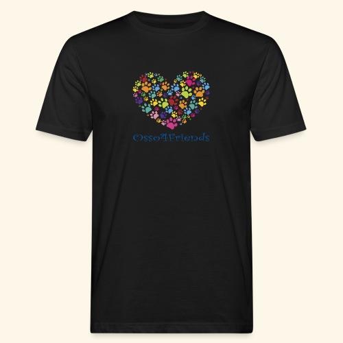 CUOREZAMPE - T-shirt ecologica da uomo
