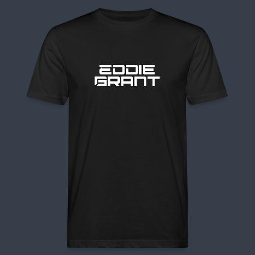Eddie Grant White Logo - Mannen Bio-T-shirt
