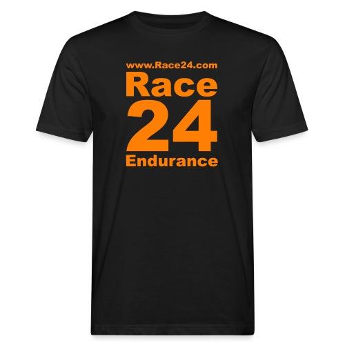 Race24 Logo in Orange - Men's Organic T-Shirt