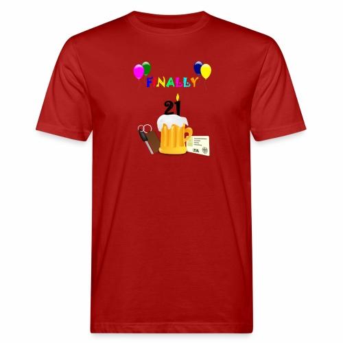 Finally 21 (2) - Men's Organic T-Shirt