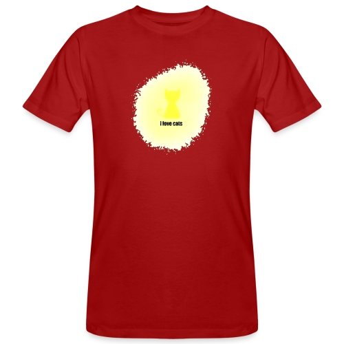 Sand cat - Men's Organic T-Shirt