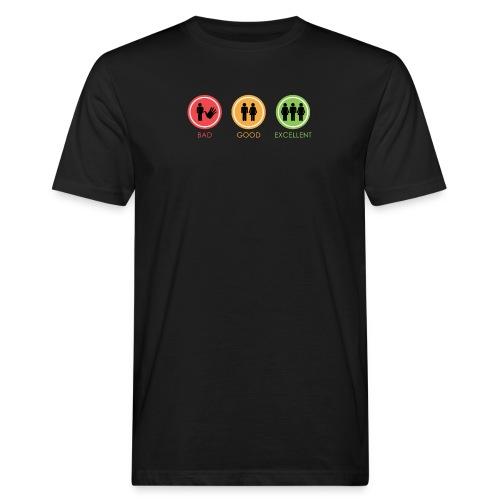 BAD GOOG EXCELLENT - T-shirt ecologica da uomo