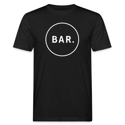 BAR Logo 1 farbig - Männer Bio-T-Shirt