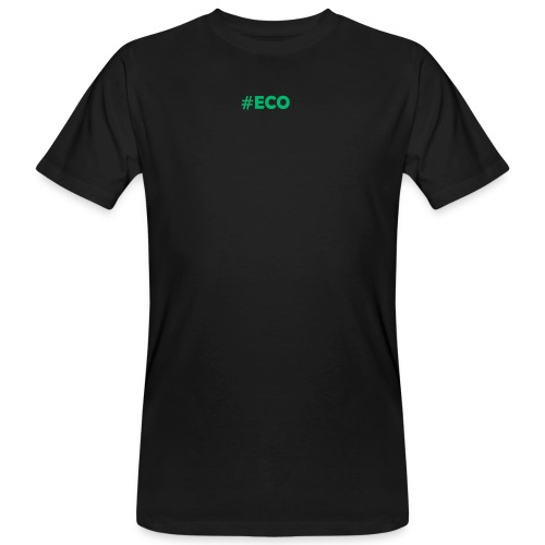 #ECO Blue-Green - Männer Bio-T-Shirt