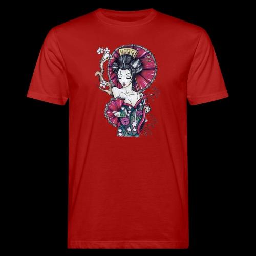 Geisha2 - T-shirt ecologica da uomo