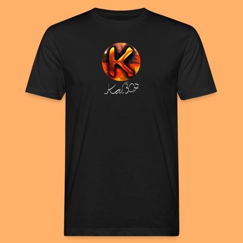 Kai_307 - Profilbild + Unterschrift Weiß - Männer Bio-T-Shirt