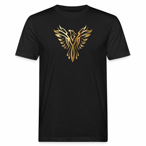 Złoty fenix - Ekologiczna koszulka męska
