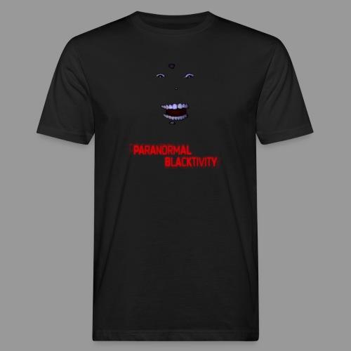 Paranormal Blacktivity - Männer Bio-T-Shirt