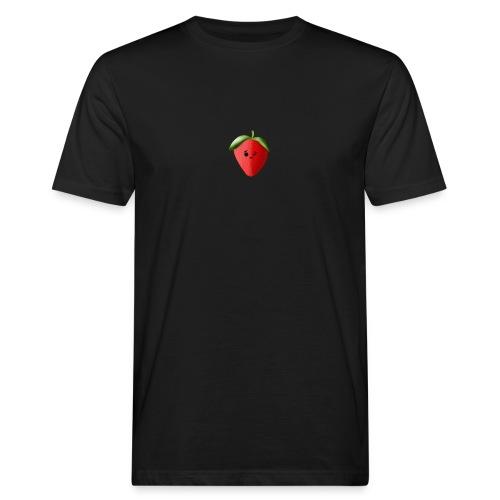 Erdbeere - Männer Bio-T-Shirt