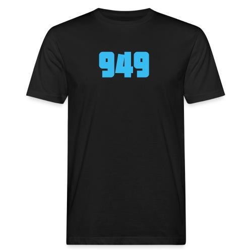 949blue - Männer Bio-T-Shirt