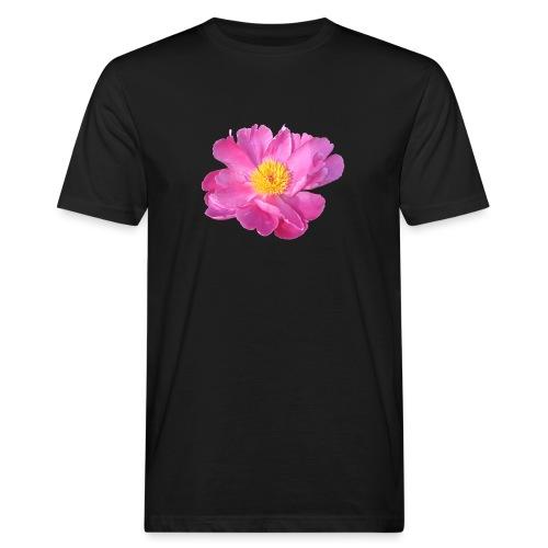 TIAN GREEN Garten - PfingstRose - Männer Bio-T-Shirt