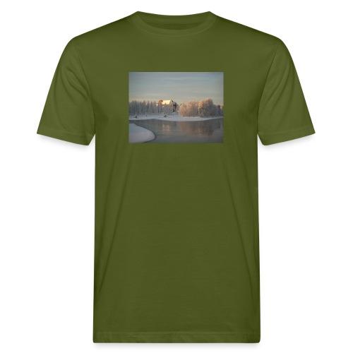 Talvinen Joensuu - Miesten luonnonmukainen t-paita