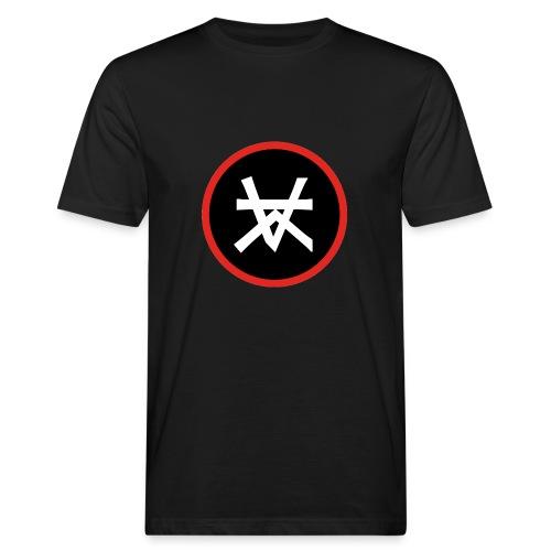 Kairos Logo Red&Round - Mannen Bio-T-shirt