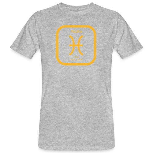 Horoskop Fische12 - Männer Bio-T-Shirt