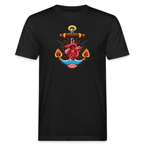 Sailor's Heart - Tattoo design - T-shirt bio Homme