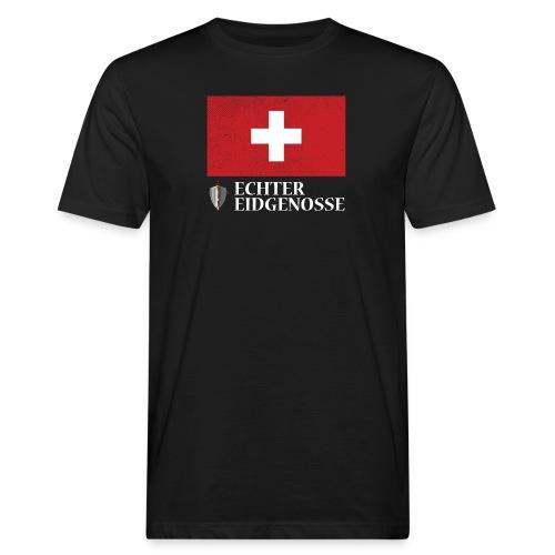 Echter Eidgenosse Schweiz - Männer Bio-T-Shirt