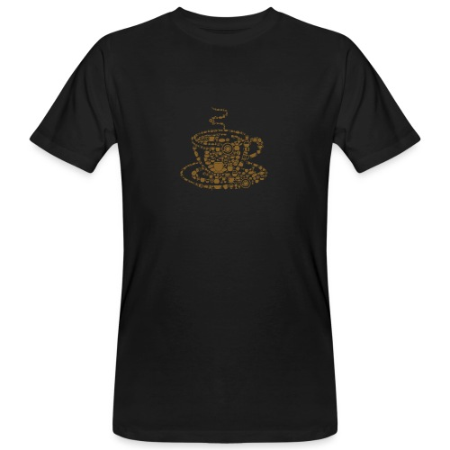 Cup of Coffee - Männer Bio-T-Shirt