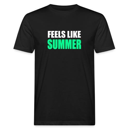 Feels like summer - Männer Bio-T-Shirt