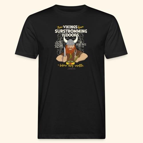 Indoors | Surströmming T-Shirts - Männer Bio-T-Shirt