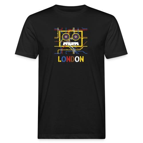 London Tube Map Underground - Männer Bio-T-Shirt
