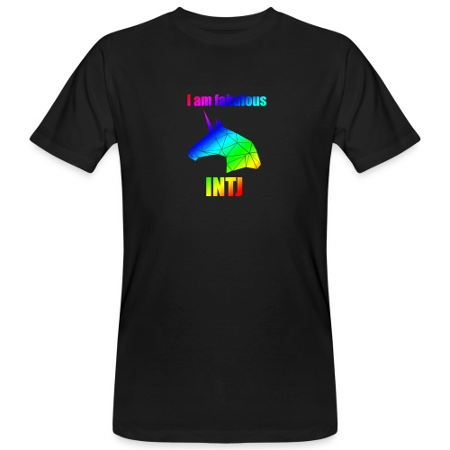 INTJ - Ekologiczna koszulka męska