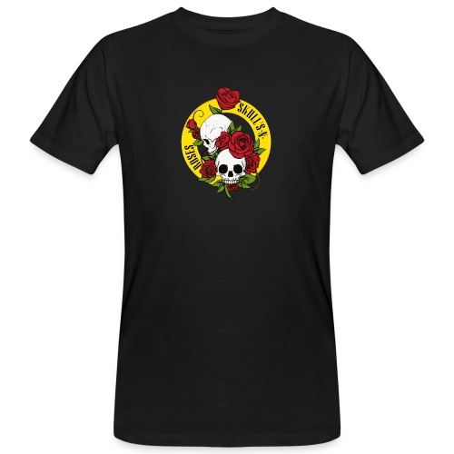 SKULL'S N ROSES - Camiseta ecológica hombre