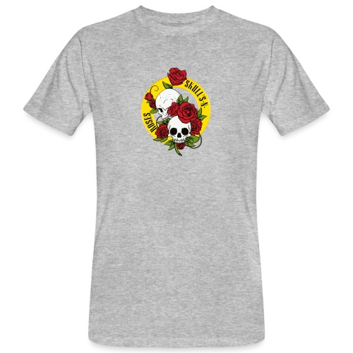 SKULL'S N ROSES - Camiseta ecológica hombre