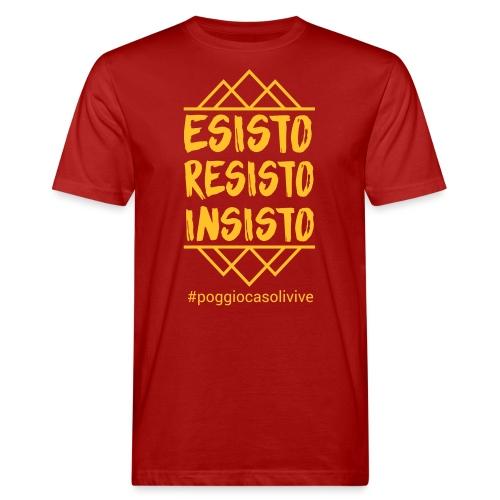 patch resisto - T-shirt ecologica da uomo