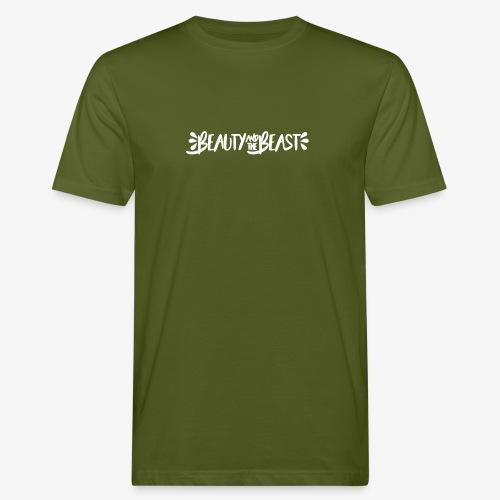 Beauty and the Beast - Men's Organic T-Shirt