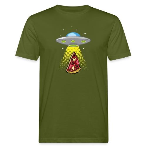 UFO Pizza Abduction - T-shirt bio Homme