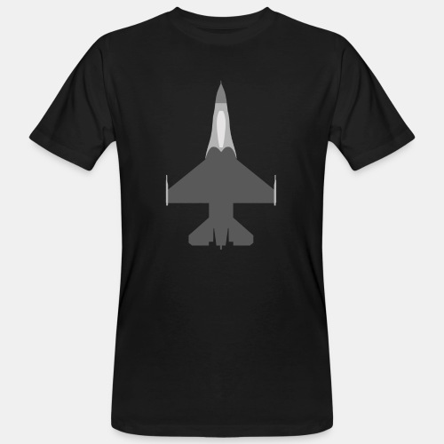 F-16 Viper / Fighting Falcon jet fighter / F16 - Men's Organic T-Shirt