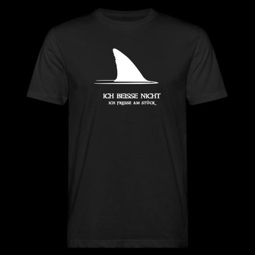 ~ ICH BEISSE NICHT ~ - Männer Bio-T-Shirt