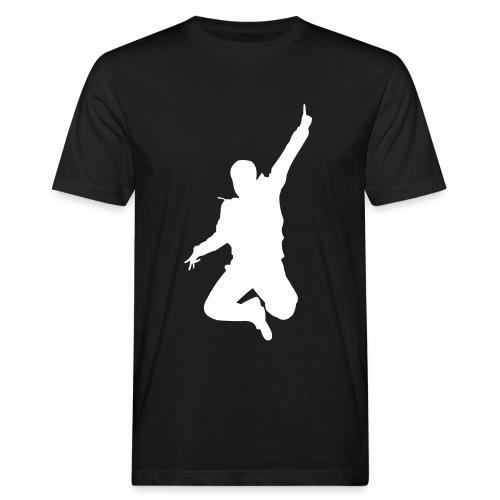 Jumping Man - Männer Bio-T-Shirt