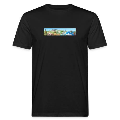 turista completo - T-shirt ecologica da uomo