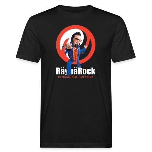 Räyhärock musta - Miesten luonnonmukainen t-paita