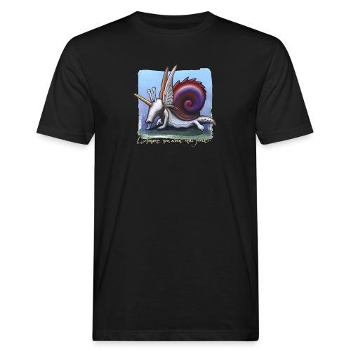 Unichiocciolo - T-shirt ecologica da uomo