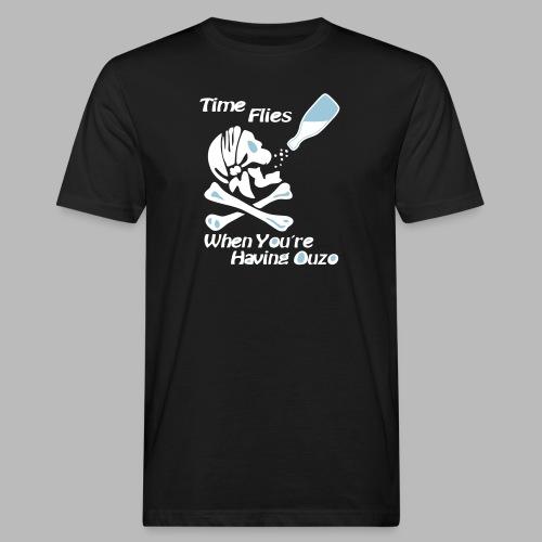 Time Flies Ouzs Shirt - Männer Bio-T-Shirt