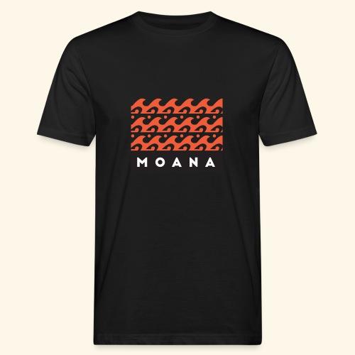 Moana means Spirit of the Ocean by Te-Moana - Männer Bio-T-Shirt