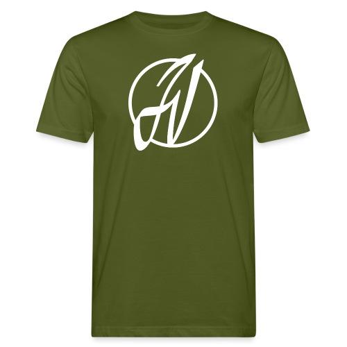 JV Guitars - logo blanc - T-shirt bio Homme