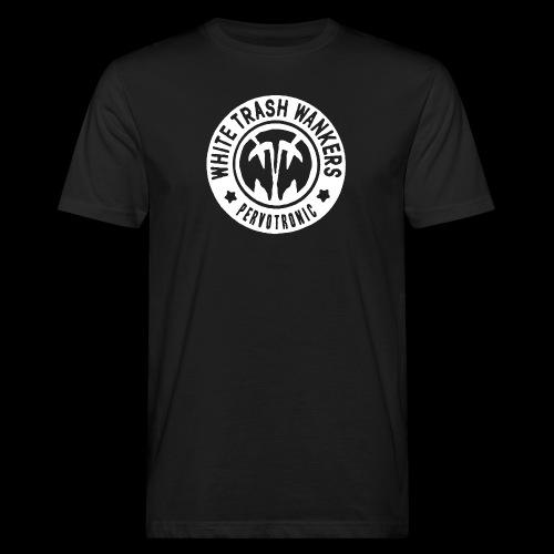 White Trash Wankers Pervotronic-Logo - Männer Bio-T-Shirt
